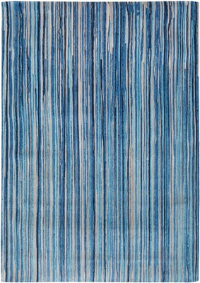Atlentic Ocean 8485 Blue Stripes[Gaat uit de collectie]