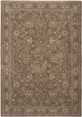 BOBO FLOWERS Bourges Brown 8911 [[ gaat uit collectie ]] ##