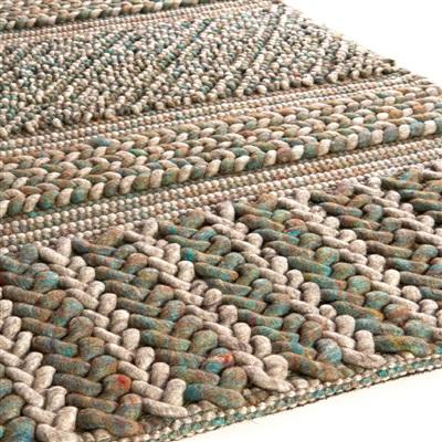 Brinker Carpets Marrakech 400 Blauw, Groen, Ivory