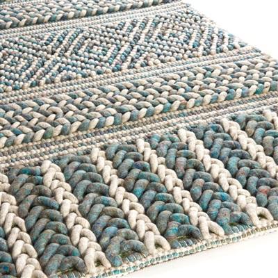 Brinker Carpets Marrakech 425 Blauw, Ivory