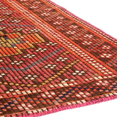 Brinker Carpets New Life 2 Multicolor, Rood
