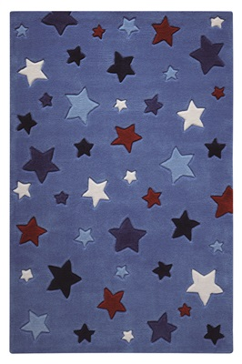 Smart Kids Simple Stars SM-3984-11 Blauw, Multicolor, Rood, Wit