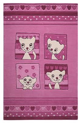 Smart Kids Kitty Kat SM-3988-02 Roze, Wit