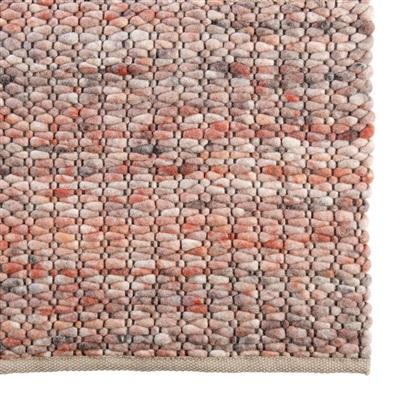De Munk Carpets Firenze 14 Creme, Grijs, Oranje, Zalm