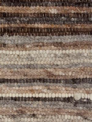 Brinker Carpets Fusion Stripes 180 (BINNENKORT UIT COLLECTIE !!!!) Beige, Bruin, Grijs