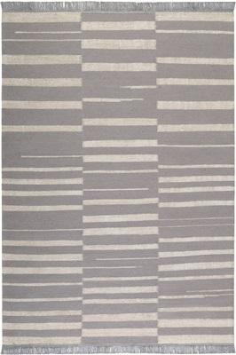 Carpets & Co Skid Marks Go-0009-03 Creme, Grijs