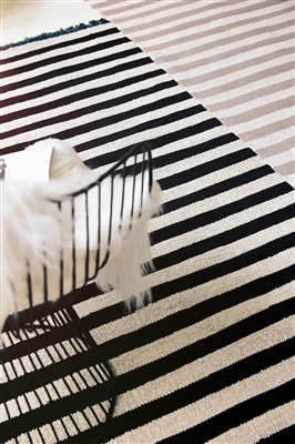 Carpets & Co Noble Stripes Go-0010-03 Beige, Creme, Grijs