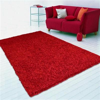Onze Huis Collectie LILOU RED vloerkleed Rood