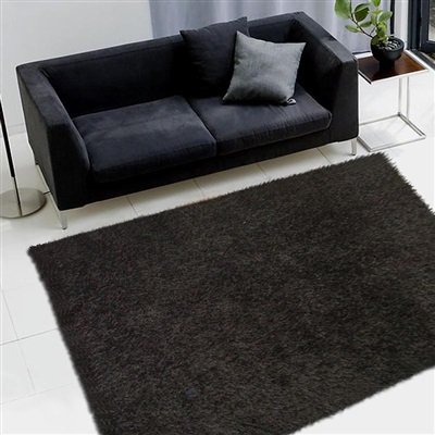 Onze Huis Collectie LILOU ZWART vloerkleed Zwart