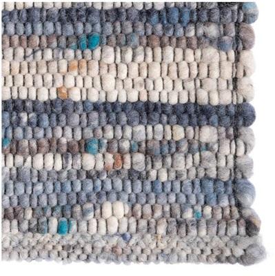 De Munk Carpets Locarno LO-02 Blauw, Grijs, Ivory