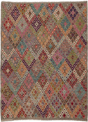 De Munk Carpets Kelim ** MMUCL-CC-197-185x235 Multicolor