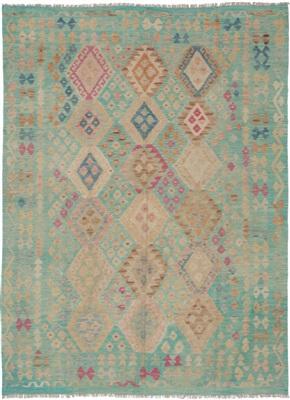 De Munk Carpets Kelim KMUCL-CC-008-190x245 Multicolor