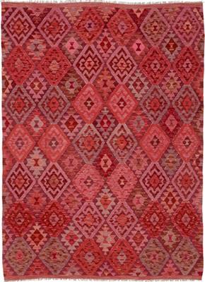 De Munk Carpets Kelim KMUCL-CC-009-175x253 Rood