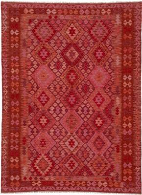 De Munk Carpets Kelim ** KMUCL-CC-011-179x244 Rood
