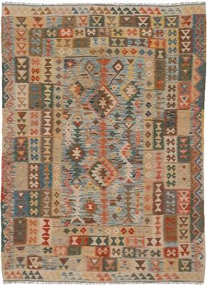 De Munk Carpets Kelim KMUCL-CC-025-196x250 Multicolor
