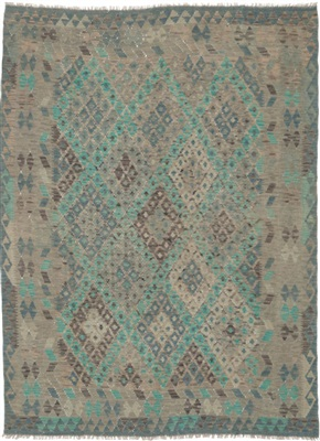 De Munk Carpets Kelim KMUCL-CC-036-188x234 Multicolor