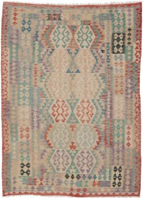 De Munk Carpets Kelim KMUCL-CC-041-171x223 Multicolor