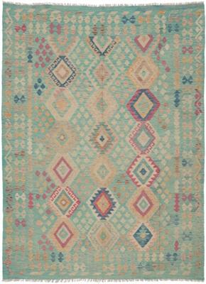 De Munk Carpets Kelim KMUCL-CC-047-183x245 Multicolor