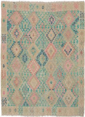 De Munk Carpets Kelim KMUCL-CC-054-190x232 Multicolor