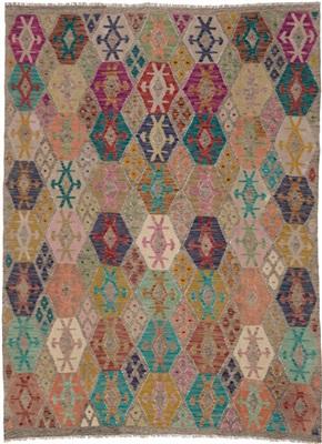 De Munk Carpets Kelim KMUCL-CC-064-215x233 Multicolor