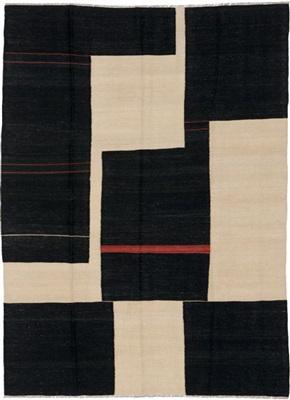 De Munk Carpets Kelim MMUCL-CC-19-06-176x230 Creme, Rood, Terra, Zwart