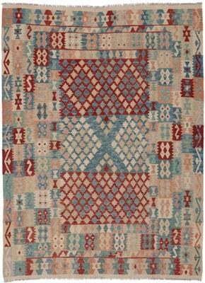 De Munk Carpets Kelim KMUCR-CU-019-206X242 Multicolor