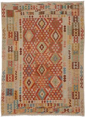 De Munk Carpets Kelim KMUCR-CU-070-210X251 Multicolor
