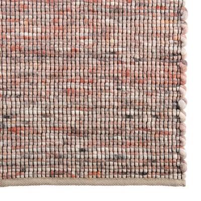 De Munk Carpets Roma RO-14 Grijs, Oranje, Zalm, Zwart