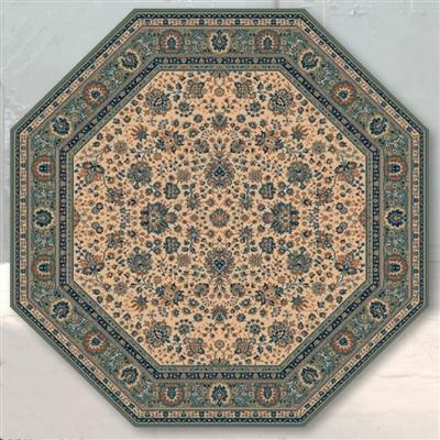 Lano Royal 1516-508 achthoek Beige, Groen