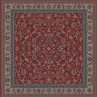 Lano Royal 1561-507 vierkant Rood
