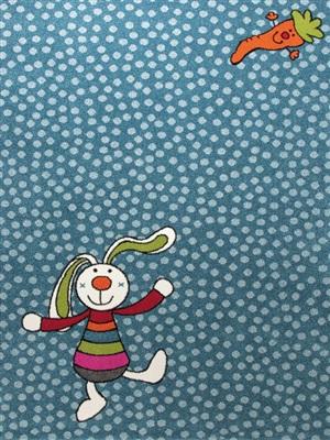 Sigikid Rainbow Rabbit SK-0523-01 Blauw, Multicolor