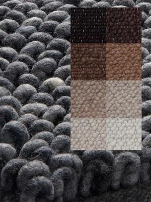 Brinker Carpets Step a10 ivoor-bruin-grijs Bruin, Grijs, Ivory