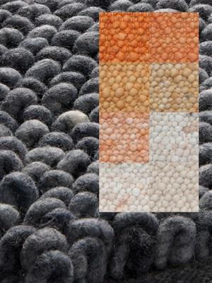 Brinker Carpets Step a10 oranje-geel Geel, Oranje