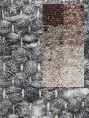 Brinker Carpets Step 2 bruin-grijs-beige Beige, Bruin, Grijs, Taupe