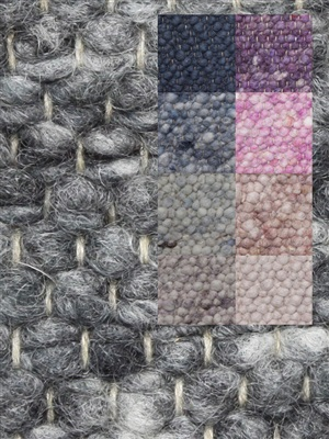 Brinker Carpets Step 2 paars-roze-blauw Blauw, Paars, Roze
