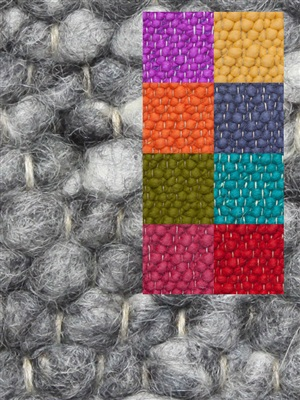 Brinker Carpets Step 3 multi color Blauw, Geel, Groen, Oranje, Paars, Rood