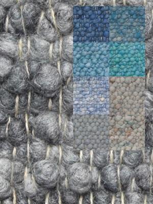 Brinker Carpets Step 4 blauw -zeegroen Blauw, Groen