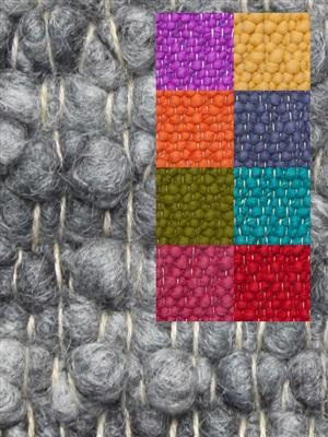Brinker Carpets Step 4 multi color Blauw, Geel, Groen, Oranje, Paars, Rood