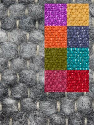 Brinker Carpets Step 5 multi color Blauw, Geel, Groen, Oranje, Paars, Rood