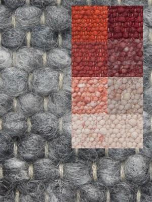 Brinker Carpets Step 5 rood-roze-brique Blauw, Groen
