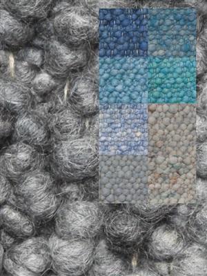 Brinker Carpets Step 6 blauw-zeegroen Blauw, Groen