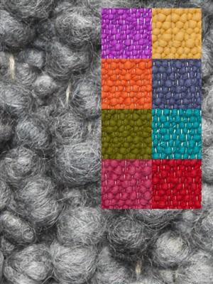Brinker Carpets Step 6 multi color Blauw, Geel, Groen, Oranje, Paars, Rood