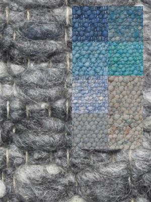 Brinker Carpets Step 7 blauw-zeegroen Blauw, Groen