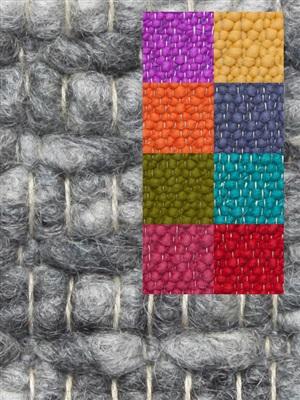 Brinker Carpets Step 8 multi color Blauw, Geel, Groen, Oranje, Paars, Rood