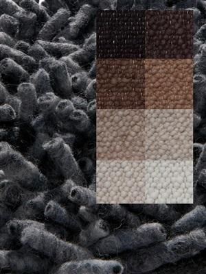 Brinker Carpets Step 9 ivoor-bruin-grijs Bruin, Grijs, Ivory