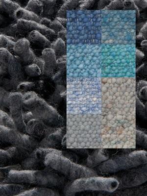 Brinker Carpets Step 9 blauw -zeegroen Blauw, Groen