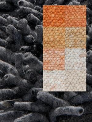 Brinker Carpets Step 9 oranje-geel Geel, Oranje