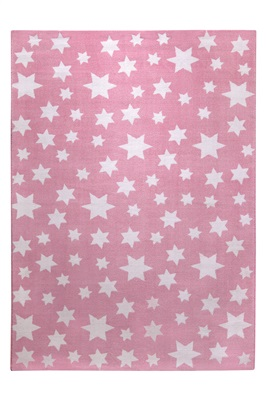 Wecom Home Jeans star WH-0705-04[Gaat uit collectie] Roze, Wit
