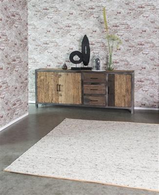Brinker Carpets Alta 88 Creme, Ivory, Terra