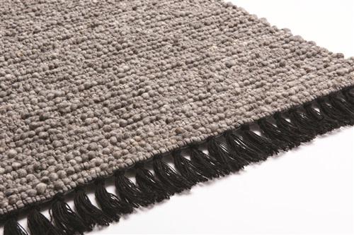 Brinker Carpets Lyon 228 Grijs, Zwart